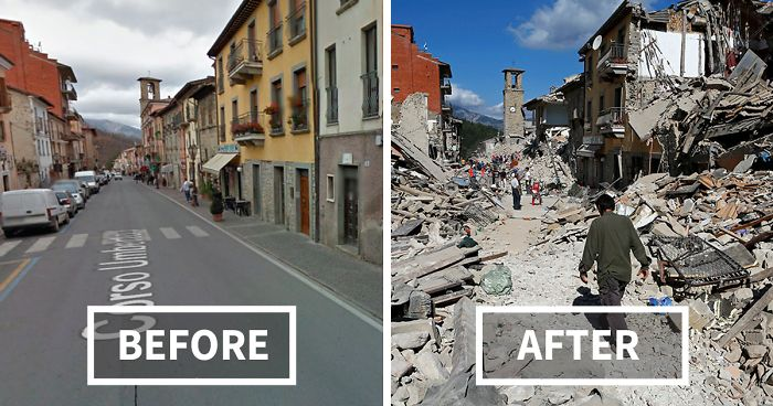Earthquake Outbreak in Italy