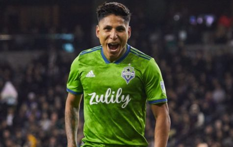 Raul Ruidiaz of the Seattle Sounders cr. USA Today Images