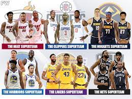 The 'Superteams' of the NBA
